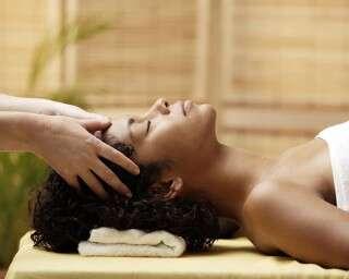 The healing powers of a scalp massage