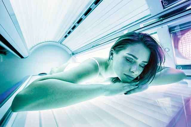 Oxygen-infused spa