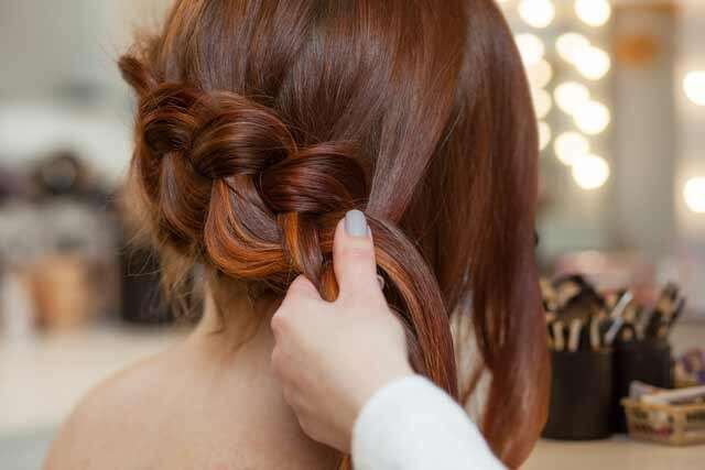 Messy Braid Hairstyles for Ombre Hair