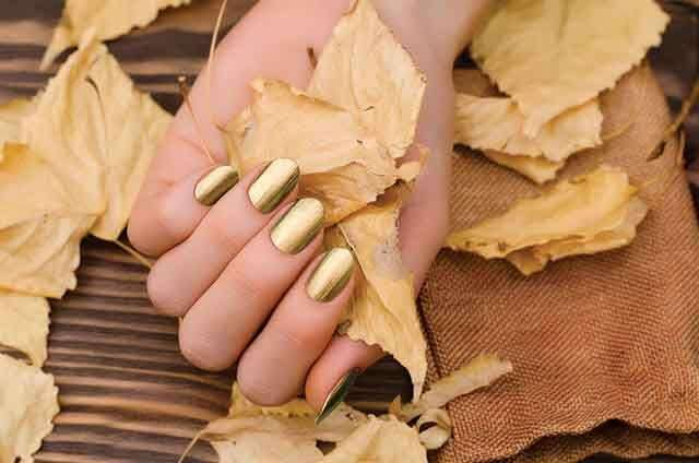 Gold jewel tone