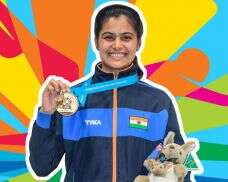 Manu Bhaker wins gold at the 2018 Youth Olympics
