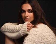 Behind the scenes with the stunning Deepika Padukone