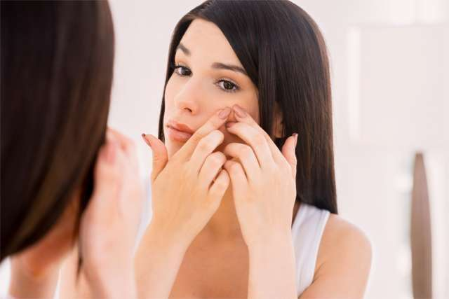 Banishes acne