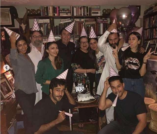 kareena kapoor khan with family