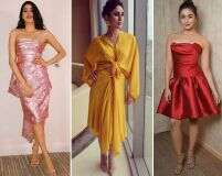 How to style cocktail dresses like celebs