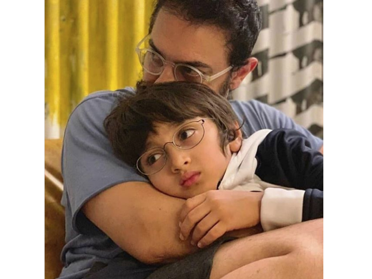 This picture of Aamir Khan with son Azad will melt your heart | Femina.in