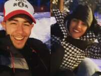 Watch: Priyanka Chopra And Nick Jonas Enjoy The Holiday Season
