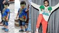 Taimur Ali Khan vs Ranveer Singh: Who's dressed better?