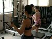 Watch Malaika Arora and Sara Ali Khan's workout video!