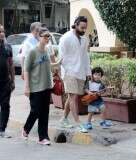 Saif Ali Khan and Kareena Kapoor Khan step out with Taimur