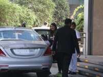 Aishwarya Rai Bachchan and Aaradhya spotted post their lunch date