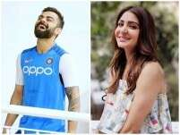 Anushka is all hearts for Virat's picture