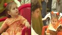 Sara Ali Khan's childhood video is so cute