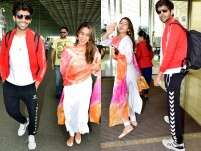 Kartik Aaryan and Sara Ali Khan spotted chatting up a storm