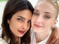 Priyanka Chopra snapped with Sophie Turner ahead of her wedding