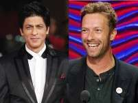 Even Coldplay's Chris Martin is a fan of Shah Rukh Khan!