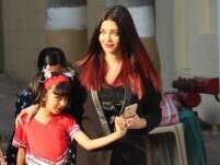 Aishwarya Rai Bachchan trolled for holding daughter's hand