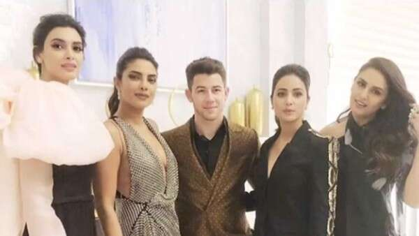 Desi girls rock with Priyanka Chopra and Nick Jonas at Cannes party