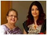 Aishwarya Rai-Bachchan celebrates mom Vrinda Rai's birthday