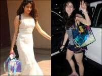 Bag off! Janhvi Kapoor's or Sara Ali Khan's holographic bag?