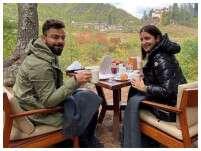 Anushka Sharma and Virat Kohli are giving us vacay goals!