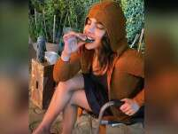 Priyanka Chopra enjoys paan as she tackles Delhi's cold weather