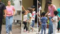 Kareena Kapoor Khan spends quality time with Taimur Ali Khan