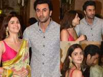 Ranbir Kapoor and Alia Bhatt flaunt their love