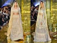 Deepika Padukone looks like a goddess as she walks the ramp