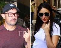See pics: Celebs step out to vote for Lok Sabha Elections 2019
