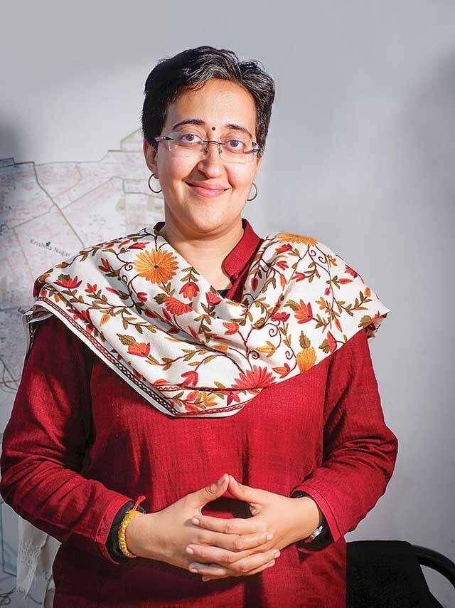 Progressive Near Me >> Atishi, a crusader for education | Femina.in