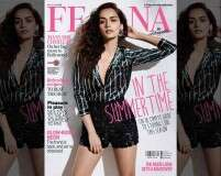 Manushi Chhillar keeps it cool on the Femina cover