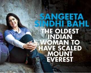 Sangeeta S Bahl: the oldest Indian woman Everester