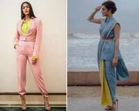 Best-dressed celebrities: Taapsee Pannu and Mrunal Thakur