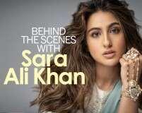 Sara Ali Khan defines elegance in this BTS video