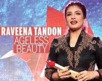 Raveena Tandon wins the Ageless Beauty Award