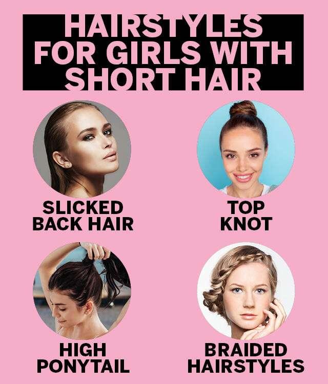 Trending Hairstyles For Short Hair Girls Femina In