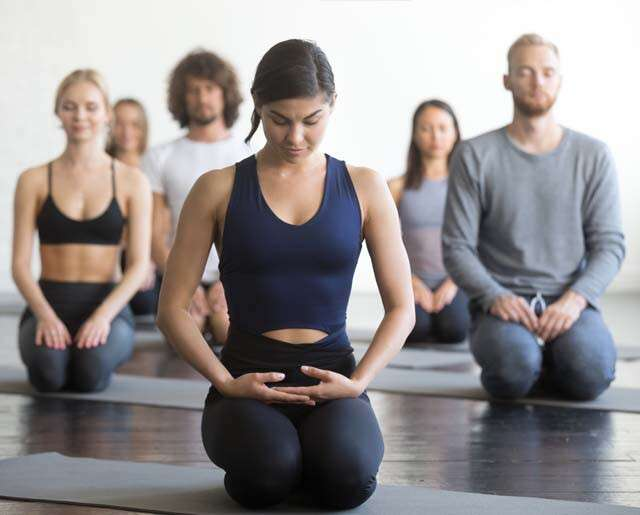 How to get into and out of Vajrasana