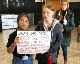 Meet the 8-year-old green warrior who urged PM to pass climate change laws
