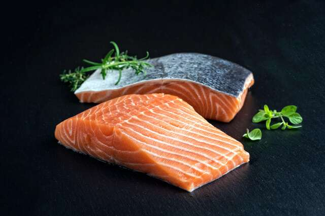 Salmon to make your nails stronger