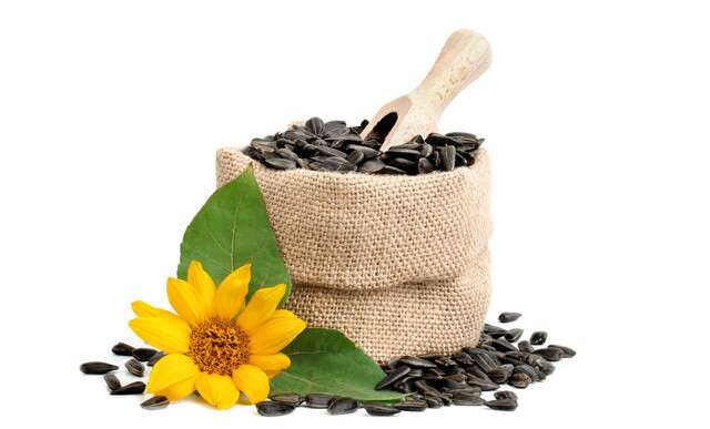 Sunflower seeds to make your nails stronger
