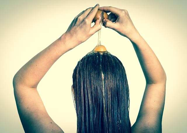 Apply Eggs Topically on your Hair for Straighten Hair Naturally