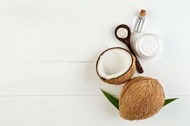 Coconut Oil for Hair as a Base Before Colouring