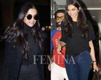 6 times Deepika Padukone nailed the casual look in black