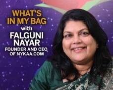 'What's In My Bag' with Nykaa.com founder Falguni Nayar