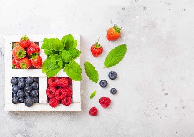 Food for Healthy Hair - Berries