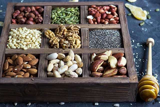 Food for Healthy Hair - Nuts and Seeds