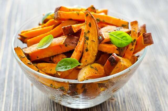 Food for Healthy Hair - Sweet Potatoes