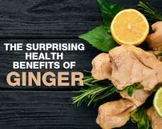 The surprising health benefits of ginger