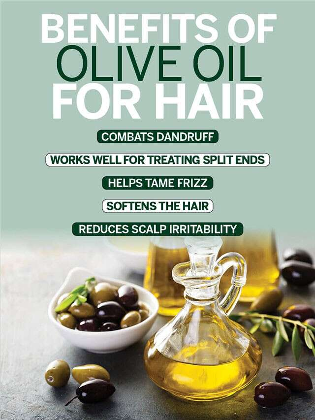 Top Uses of Olive Oil For Hair | Femina.in
